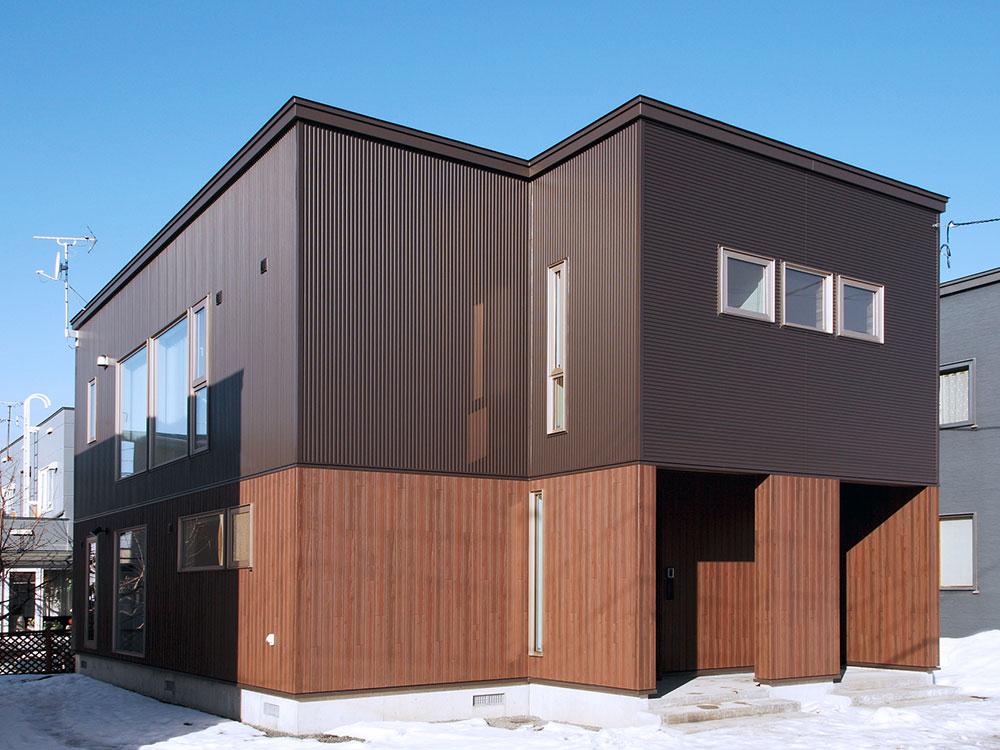 ほどよい距離感でプランニングした二世帯住宅/U様邸(札幌市)