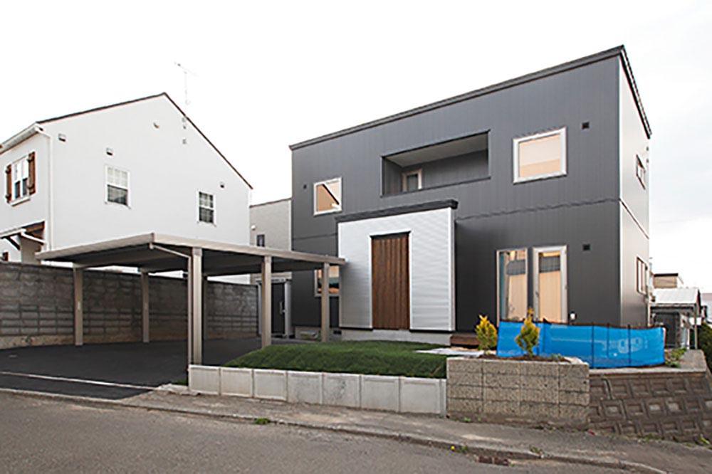 土地探し&間取りの工夫まで、大満足の注文住宅/H様邸(札幌市豊平区)