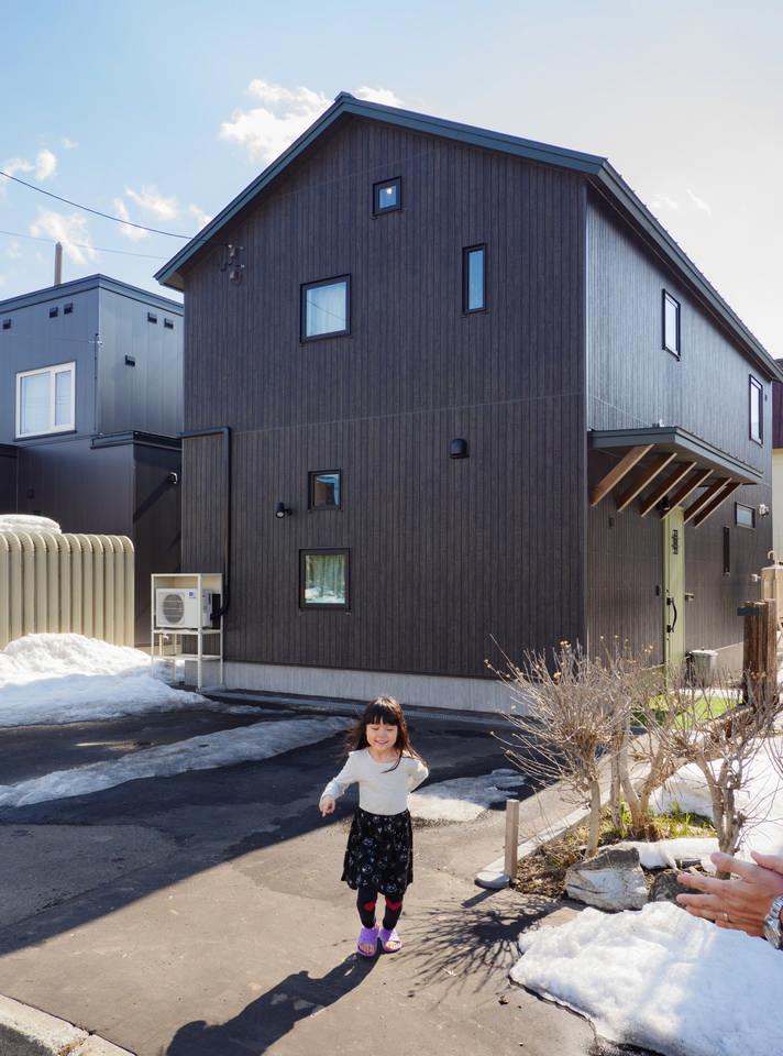 アウトドア感覚で住むDIYしやすい木の家/札幌市手稲区Oさん