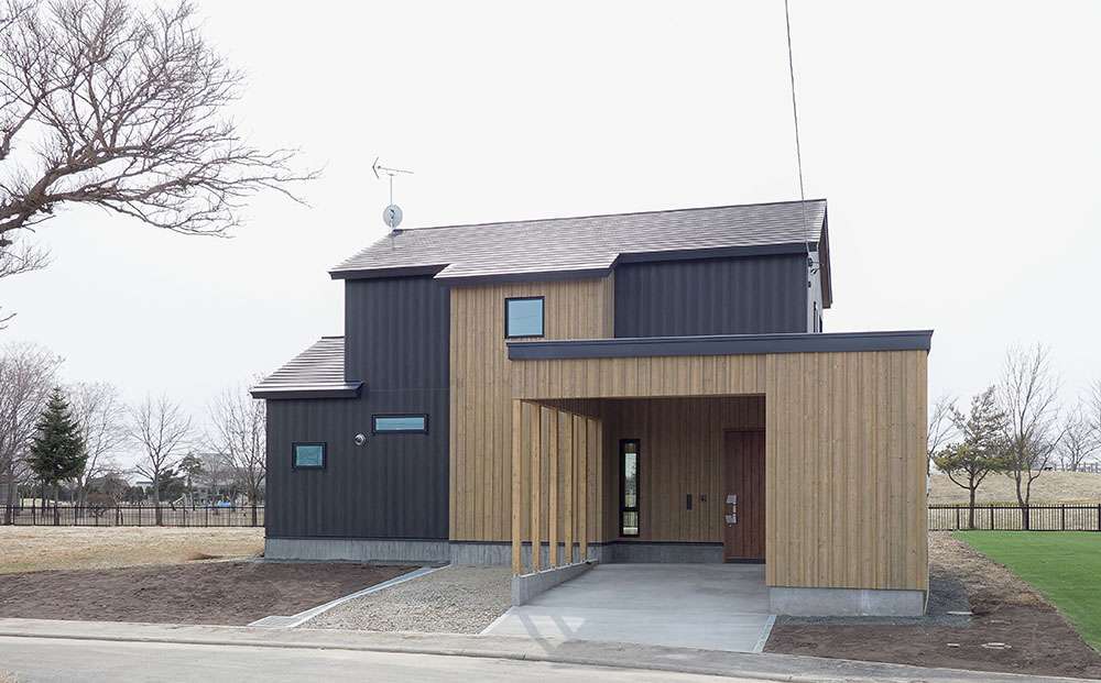 南幌町 きた住まいるヴィレッジ・北方型住宅2020の家