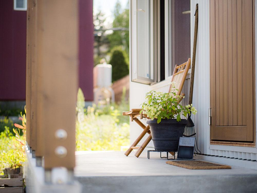 ヨーロッパの田舎に来たような素朴で温かみのある家/M様邸(札幌市西区)