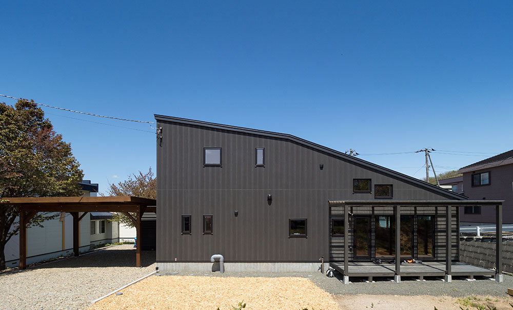 広々使える可変間仕切りの家/M様邸(札幌市南区)