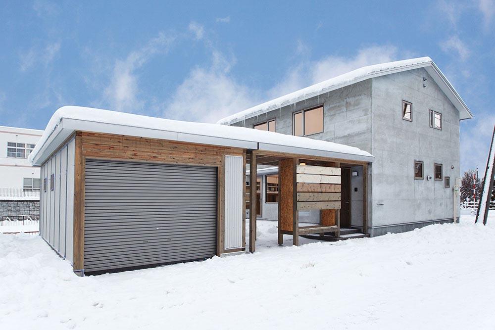 木の風合いと適材適所の収納が魅力の家/Y様邸(札幌市南区)