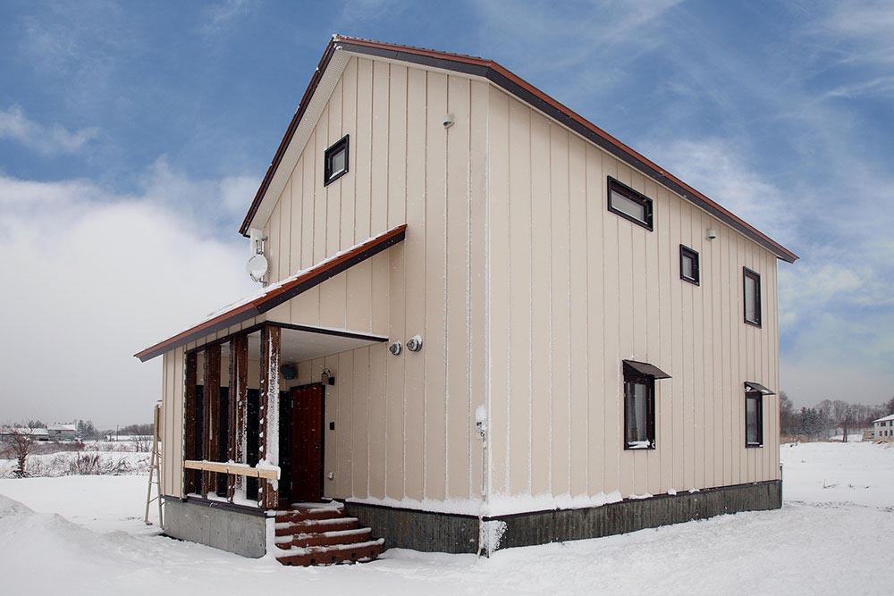 ニセコの冬を満喫できる2階LDK/ K様邸(ニセコ町)