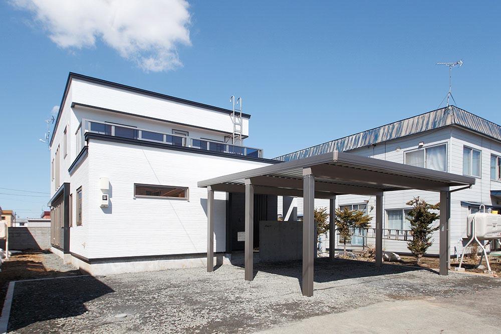 基本プランはオーナーが担当。2階にサブリビング設置の工夫も/K様邸(札幌市北区)