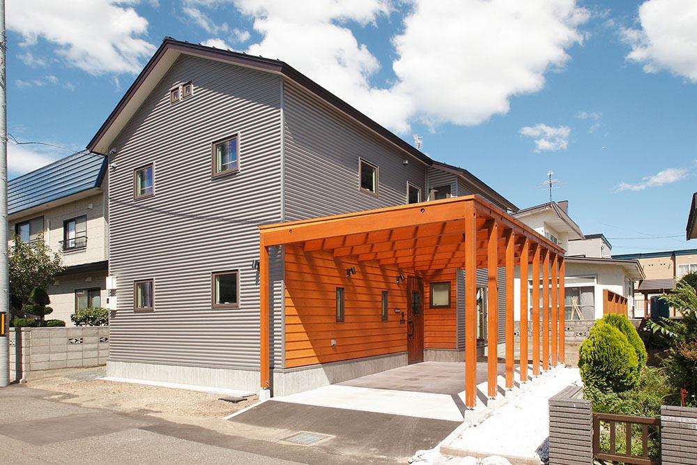 釣りやダイビング・・・趣味を満喫できる土間床の部屋 / M様邸(札幌市手稲区)
