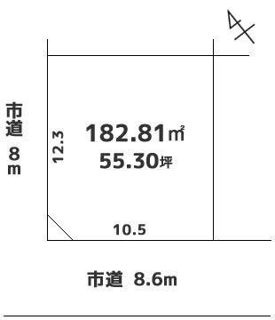 売土地 南区南沢6条 220万